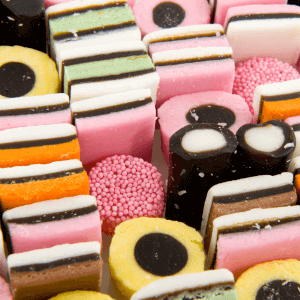colorful confectionary